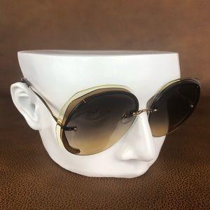 Chloe Oversized Mod Sunglasses
